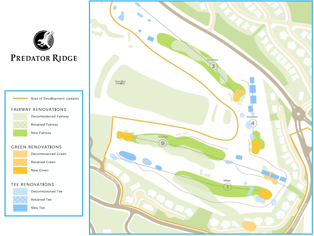 Golf Course Refresh Project Update