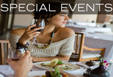 Predator Ridge Restaurant in Vernon - Special Events